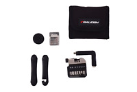 Raleigh Road Bike Mini Pocket Pouch Bag & Cycling Repair Puncture Kit Tool Set