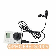 External Hi-Fi Microphone for Gopro Hero 3 3+ 4 2 1