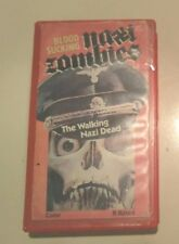 Blood Sucking Nazi Zombies VHS 1988 Horror VHS Tape - RARE OOP CULT MOVIE FAVE