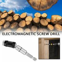 Magnetic Screw Drill Tip Change Locking Bit Holder With Quick Spring Release