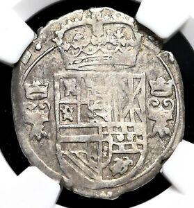 SPANISH NETHERLANDS. Philip IV, 1621-1665, Silver 3 Stuivers, NGC VF30