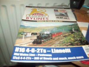 Railway Bylines magazine--vol.16 no. 8 JULY 2011
