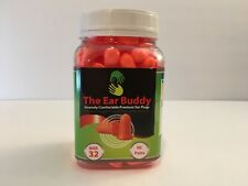 The Ear Buddy Premium Soft Foam Ear Plugs NRR 32 Decibels 50 Pairs NEW