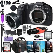 Canon EOS RP Mirrorless Camera (Body Only) + Mount Adapter kit  w/ Accessories