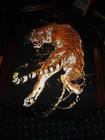 Carbon from Rue 21 T shirt pull over tiger size small new without tags