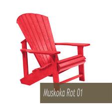 Muskoka Generation Line Stuhl C01 Classic Chair Adirondack - NEU - rot