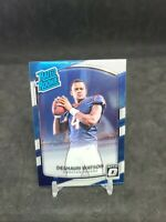 2017 Donruss Optic Deshaun Watson Rated Rookie RC Card # 195 Houston Texans QB
