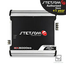 Stetsom Ex5000 Eq 5000w Rms 2 Ohms Amplifier Car Audio 3 Day Delivery