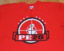 RaRe *PUBLIC ENEMY 1987-2007* vtg rap concert tour t-shirt (XL) Def Jam Hip-Hop