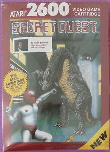 Secret Quest (Atari 2600) Factory Sealed