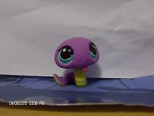 Littlest Pet Shop Purple Snake with Blue Eyes #1828