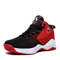 Kids Boys Basketball Shoes Athletic Outdoor Running Sports Fashion Sneakers Tide