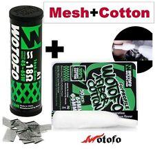 Wotofo Mesh Coil Watte Selbstwickler Profile RDA RTA Wotofo Cotton e-zigarette