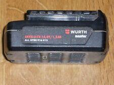 Genuine WURTH Compact 14.4v 1.5Ah batteria ricaricabile. aqqu-LI-CV-14.4/1.5Ah