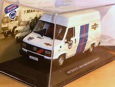 # 1/43 FIAT DUCATO ASSISTENZA LANCIA MARTINI RALLY 1989-90 n/spark-hpi-amr MIB #