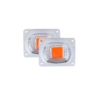 COB Grow Full spectrum Chip+Lens Reflector 50W 30W 20W 110V/220V LED Flood Light