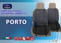 Coprisedile auto universale estivo Porto fresco schienale Cotone copri sedili 2