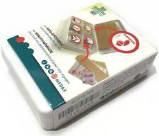 Miniapotheke für unterwegs (Pillenbox mit Aufkleber, Tablettenbox Tablettendose)