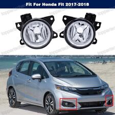 1 Pair Fog Lights Lamps Front Left,Right for Honda Fit 2017-2018