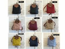 NEW Auth Longchamp Le Pliage Nylon Zipper Backpack Bag 10 color