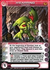 1x  Chaotic Card RARE UNUSED CODE H'earring, Tainted - Random Stats