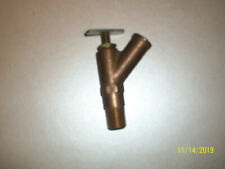 Nors Brass Manual Heater Control Shut Off Valve Possible Use 1930's 1940's Cars