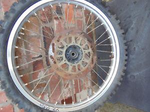 Yamaha YZ250 YZ125  1989 Front  wheel   YZ 125 YZ 250