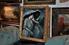 Museum Quality  High Society Portrait of Grand Dame  Oil Painting