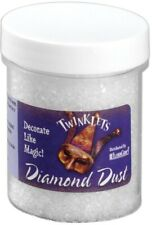 Twinklets Diamond Dust Plastic Glitter Like Snow Christmas Glitter 3 Ounce Jar