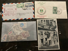 Syria Covers Postcard Stamps Collection Lot MXE