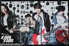 "CNBLUE ""EAR FUN"" PROMO POSTER FROM THAILAND - Korean Rock Pop Band"