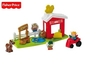 Fisher Price R6928/R6929 Little People Click 'N Fun Farm New Boxed