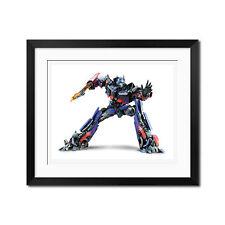 Transformers Autobot Optimus Prime Poster Print