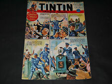 Journal de Tintin Français N° 176 Couverture Raoul AUGER Aviation
