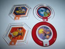 DISNEY INFINITY Power Disc Lot Toy Story Buzz Woody Zurg Wrath Rare Star Command