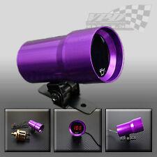 37mm Micro Digital Ahumado Manómetro de aceite Universal 4-6-8 Cilindros Motores