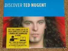 TED NUGENT - Discover - 5 Track CD + BONUS MP3! RARE!