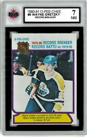 1980-81 O-Pee-Chee #3 Wayne Gretzky Youngest 50 goal Graded 7.0 NM (052619-40)