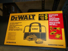 Dewalt DCB205 CK 20V Max Starter Kit (5 Ah Battery, Charger & Contractor Bag