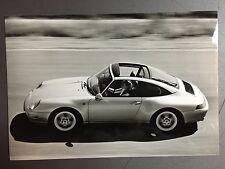 1996 Porsche 911 Targa B&W Press Photo Factory Issued RARE!! Awesome L@@K