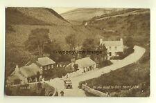 tp5509 - Isle of Man - Vehicle on the Road to Glen Helen - Postcard