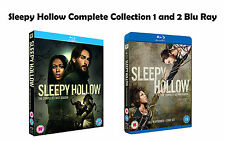 Sleepy Hollow Complete Collection 1-2 Blu Ray All Seasons 1 2 Original UK NEW R2