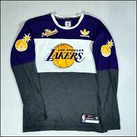 Adidas Skateboarding x The Hundreds x LA Lakers NBA Long-Sleeve T-Shirt | Medium