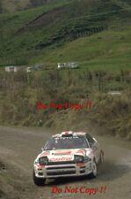 Yoshio Fujimoto Toyota Celica Turbo 4WD New Zealand Rally 1994 Photograph 2