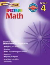 Spectrum Math, Grade 4 by Thomas Richards