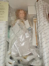 """1991 DANBURY MINT SHIRLEY TEMPLE """"LITTLE PRINCESS"""" 19"""" DOLL IN BOX WITH COA"""