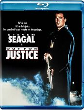 NEW BLU-RAY - OUT FOR JUSTICE - Steven Seagal, William Forsythe, Jerry Orbach,