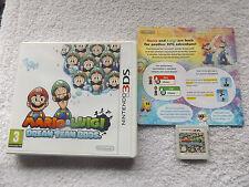 MARIO & LUIGI DREAM TEAM BROS. NINTENDO 3DS RPG V.G.C. FAST POST COMPLETE