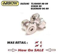 SUZUKI TL1000R 98-99 SV650 99 GSXR600 96-99 SWINGARM SPOOLS BOBINS ARROW
