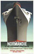 A.M. Cassandre-Normandie-1979 Lithograph